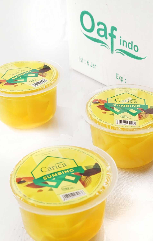 khasiat manisan buah carica khas dieng
