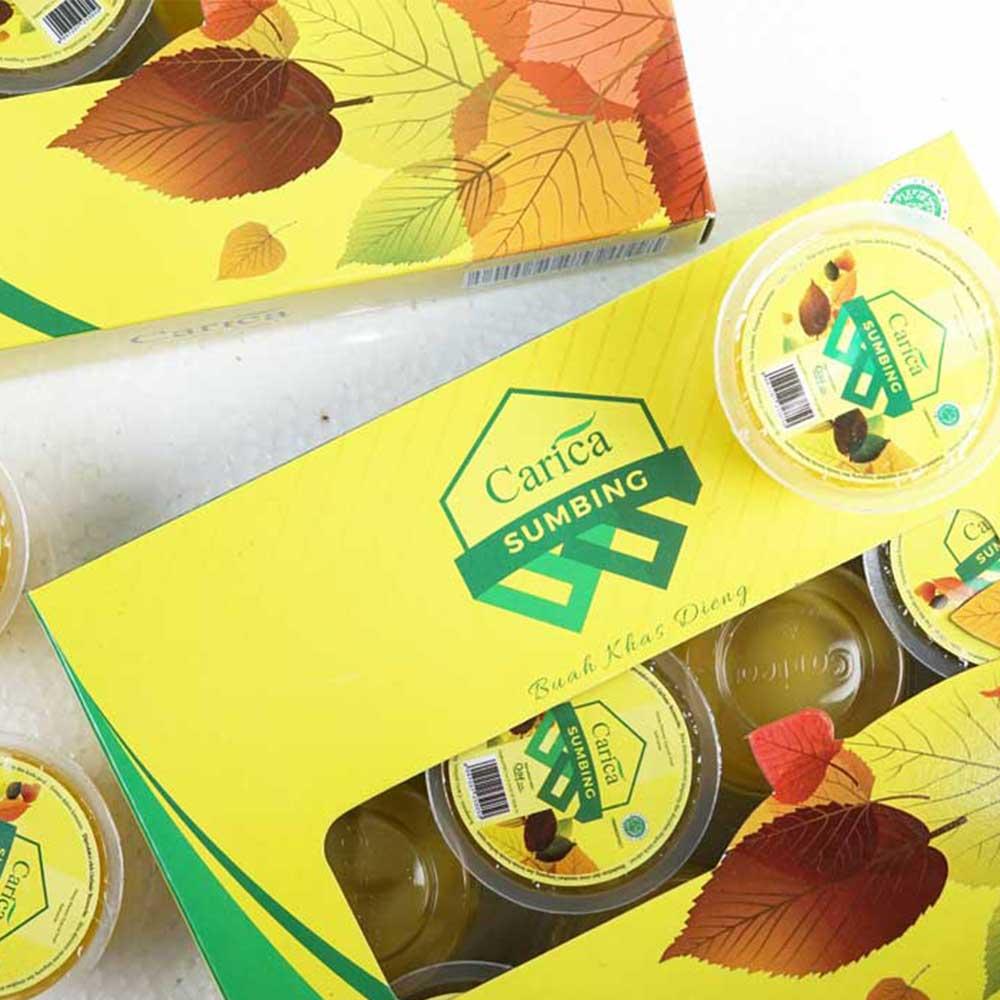 supplier manisan carica sumbing segar